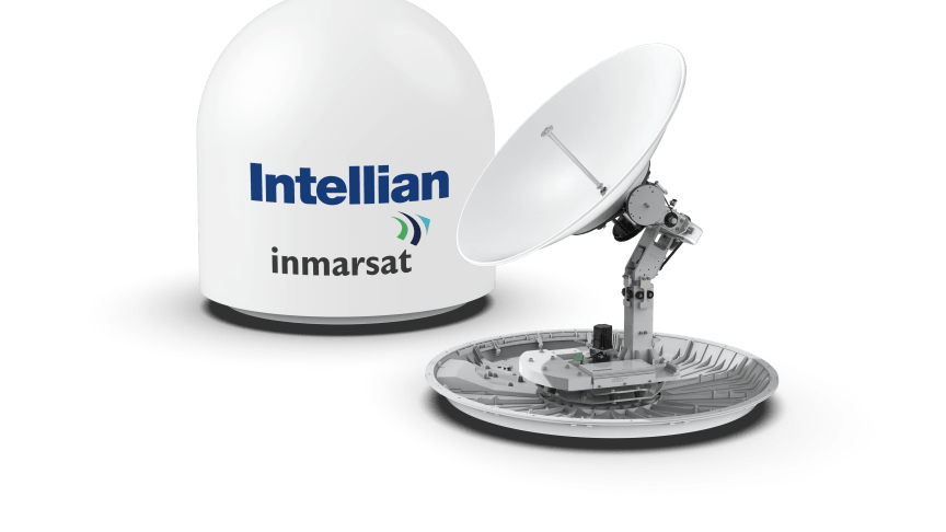 Intellian's next-generation GX100NX antenna has been approved by Inmarsat