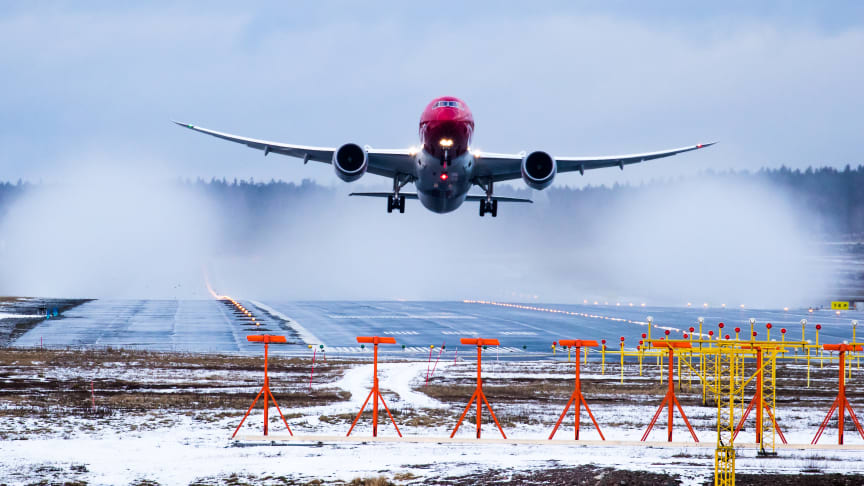 Norwegian 787 Dreamliner       Foto: David Charles Peacock