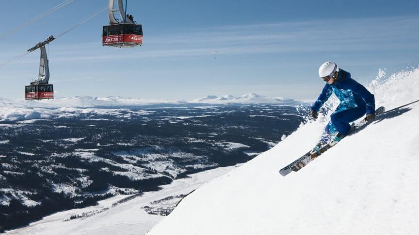 Telenor Sverige blir officiell telekompartner till SkiStar i Åre och Sälen