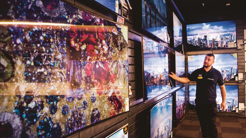 Tydlig EM-effekt i TV-försäljningen