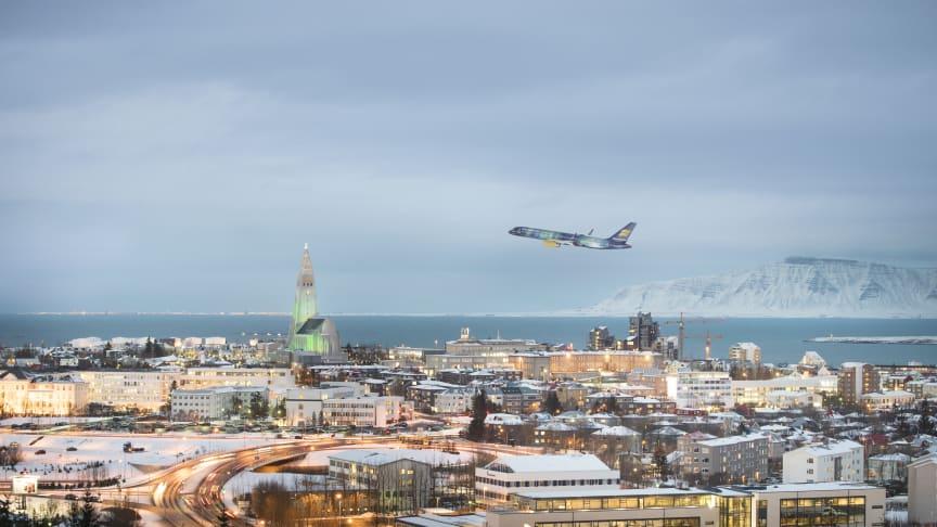 Icelandair takaa revontulet!