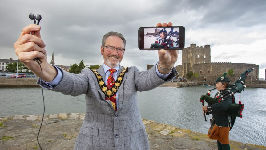 The Massed Bands of the Army's four Irish Regiments' Carrickfergus Castle performance will be streamed across Mid and East Antrim Borough Council's online platforms. A small number of tickets will be available closer to the event on 11 September.