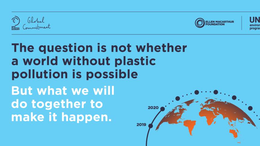 BELGIUM | Mondelēz International steunt een geharmoniseerde aanpak voor recyclage van plastic wereldwijd