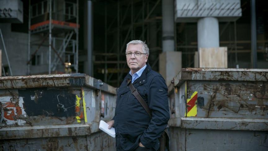 Torgny Hasås forfatter og redaktør av boken Det mørke arbeidslivet. Foto: Tri Nguyen Dinh