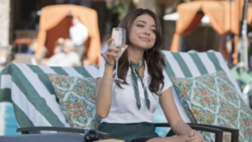 Sarah Hyland som  Haley i Modern Family säsongspremiär på FOX den 4/2