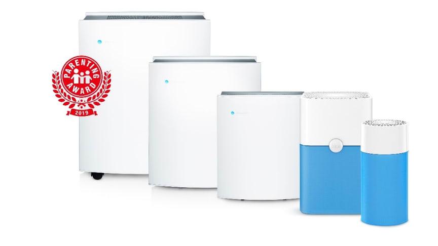 Blueair Classic and Blue air purifiers