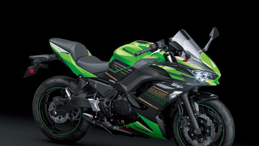 MY20 Kawasaki Ninja 650 - Lime Green / Ebony