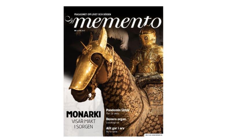 I andra numret för året läser vi bland annat om dubbelheten i en monarks död och begravning