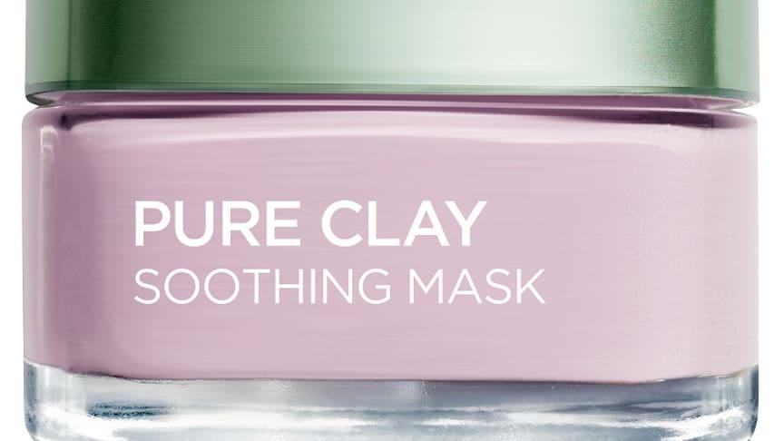 L'Oréal Paris Pure Clay Soothing Mask, rauhoittava naamio