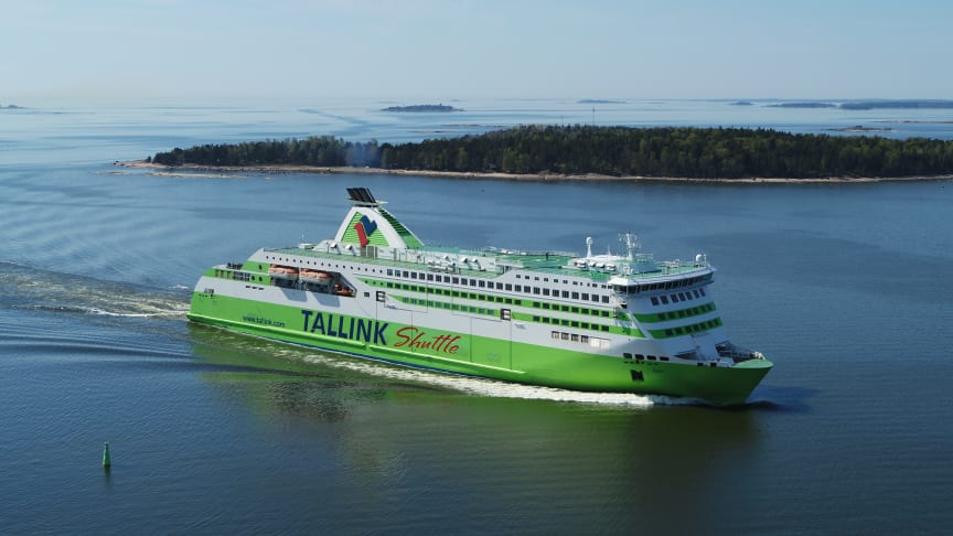 Tallink Grupp's shuttle vessel Star. Photo: Tallink Grupp