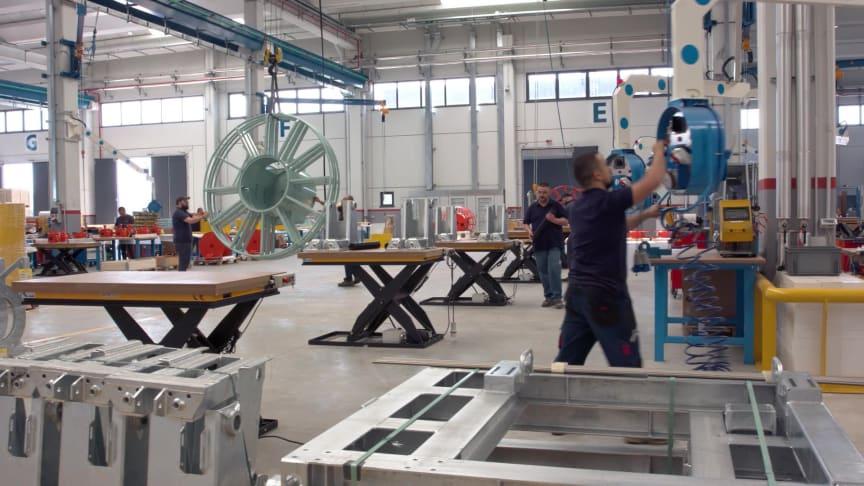Cavotec Italy's world-class production facility