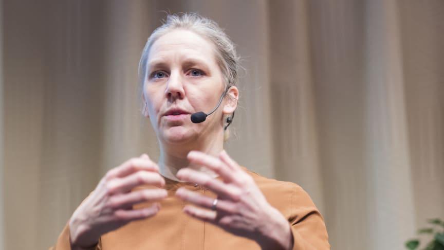 Karolina Skog på Stora Infradagen 2020: Biobränslen är en förutsättning, men vi behöver ett spektrum av lösningar