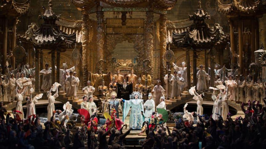 Turandot inleder opera på bio-säsongen i Lindesberg