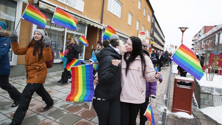 Bodens första Pridefestival 2018