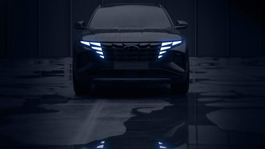 Helt nye Hyundai Tucson. Foto: Hyundai