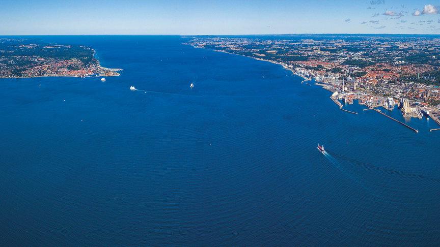 Region Skåne vill gå in som delägare i en fast förbindelse mellan Helsingborg och Helsingör