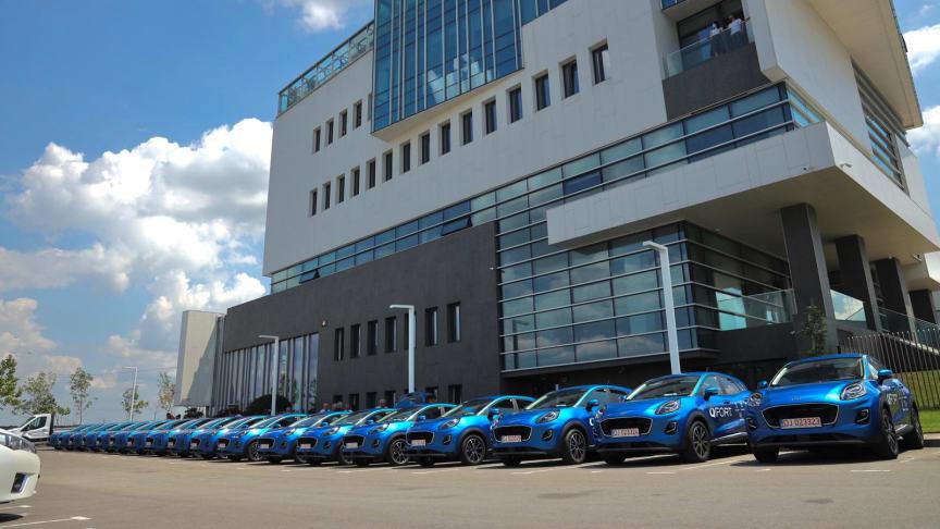 Flotă de 100 de vehicule Ford Puma fabricate la Craiova, achiziționate de compania românească Casa Noastră/QFORT