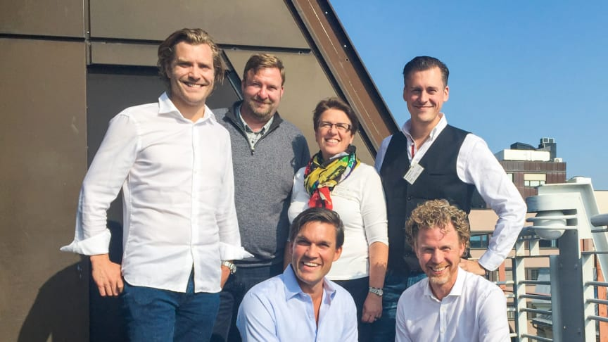 De svenska representanterna under TINCs kick-off i Oslo