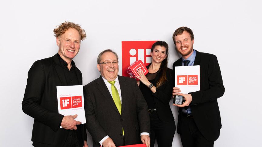 Dorian Kurz (Kurz + Kurz Design), Dr. Markus Kliffken, Katharina Kermelk, Christopher Lamers (alle BPW)