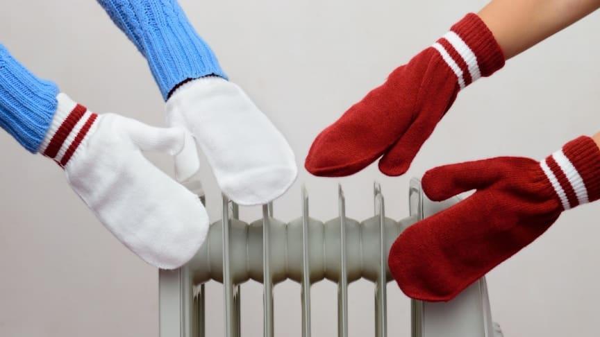 Mens Danmark er omdannet til dybfryser søger danskerne hjælp fra varmeradiatorer. Salget er firedoblet i forhold til samme tid sidste år.