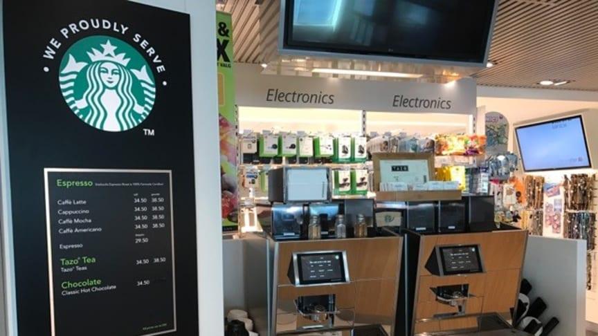 Starbucks steht bei den Kunden hoch im Kurs – auch auf den Scandlinesfähren zwischen Deutschland und Dänemark