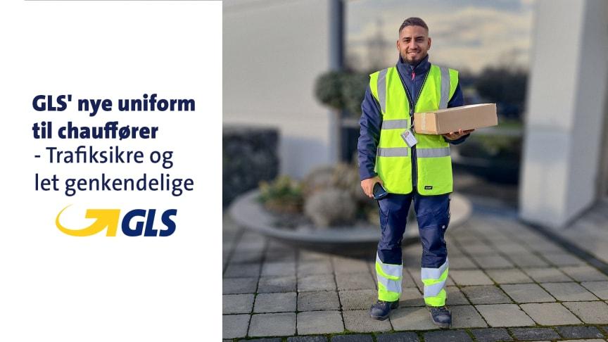 Nye uniformer til GLS-chaufførerne
