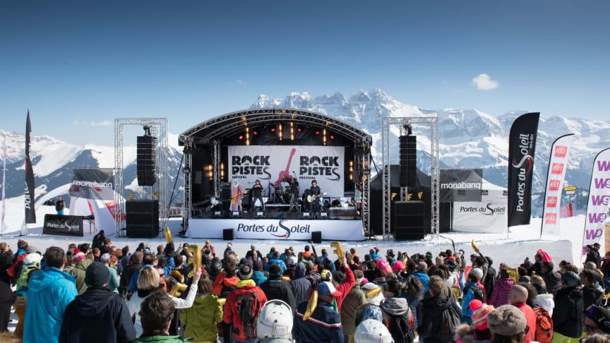 Festival Rock The Pistes in Champéry© JB Bieuville