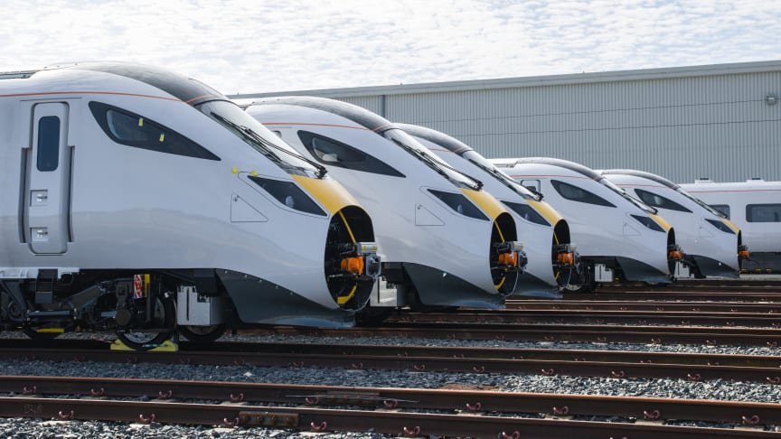 Thursday 3rd September marks the five year anniversary of Hitachi Rail officially opening its state-of-the-art train manufacturing factory in Newton Aycliffe.
