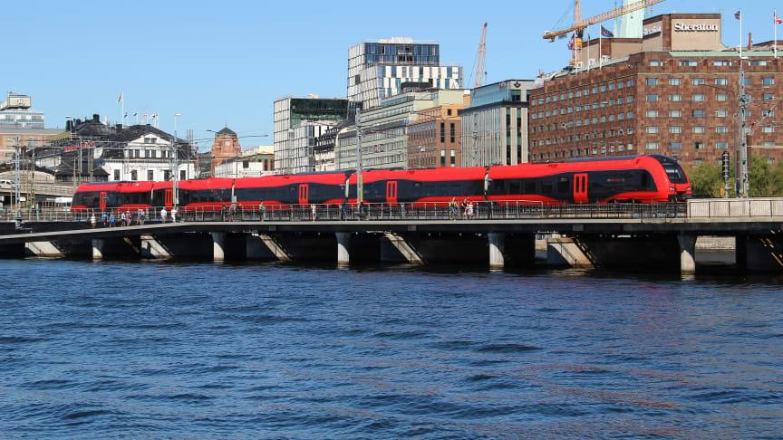 MTR Express - Sveriges punktligaste bolag mellan Stockholm och Göteborg.
