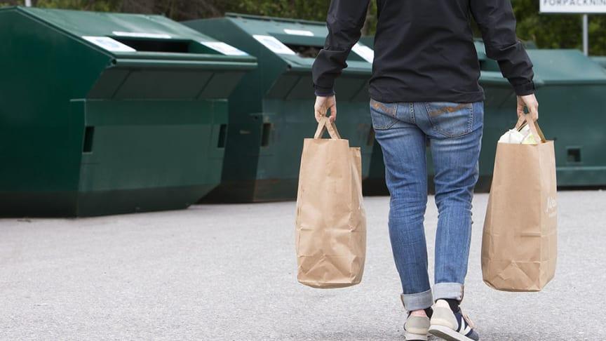 Återvinningsstation i Karlstad får ny plats