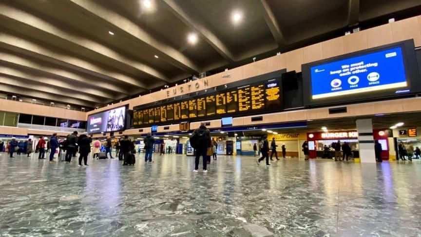 Multi-million-pound platform access improvements for London Euston passengers