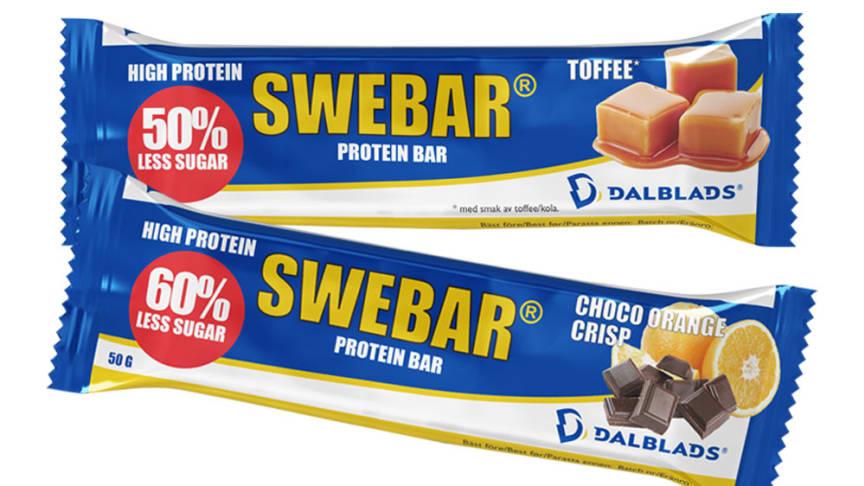 SWEBAR  - med mindre socker!