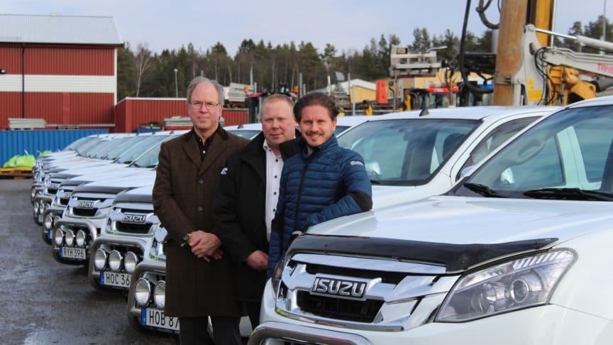 Rosenqvist Entreprenad valde Isuzu