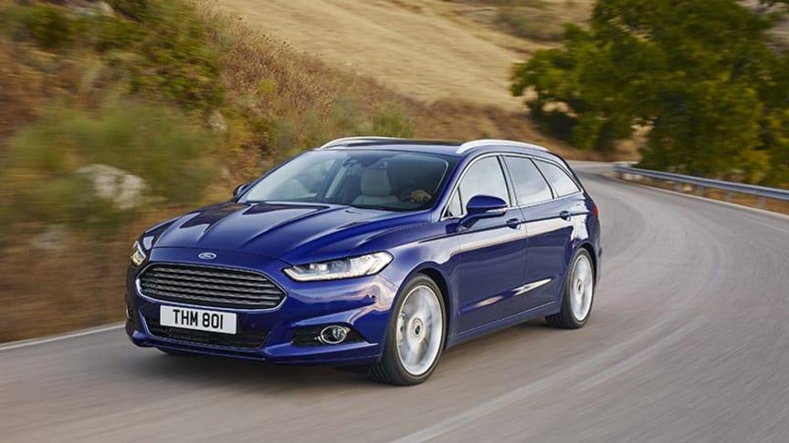 Ford lanserer ny Mondeo-generasjon med meget gode introduksjonspriser