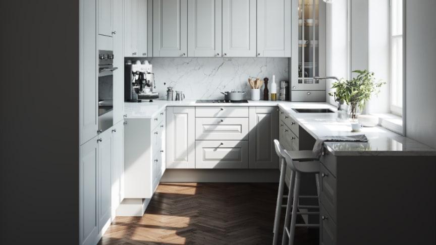 Marbodal hjälper dig att välja kulör på köket