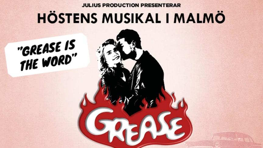 Musikalen GREASE - höstens stora musikal på Nöjesteatern i Malmö