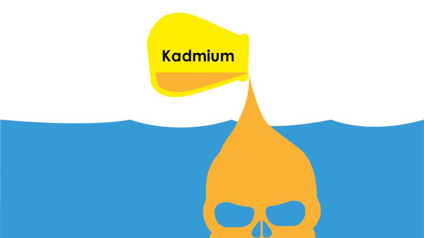 Tänk på våra badsjöar - använd färg utan kadmium