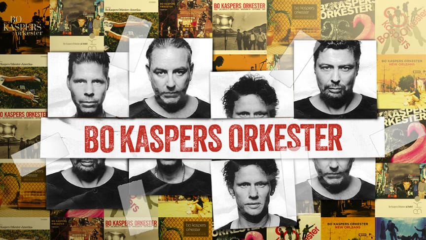 Bo Kaspers Orkester tillbaka på Gröna Lund