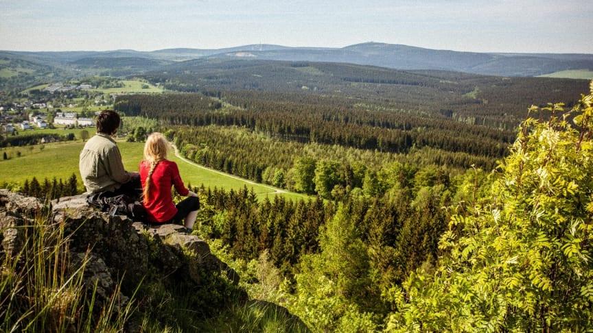 UNESCO Hiking in Montanregion © Montanregion Erzgebirge F: Jan Albrecht