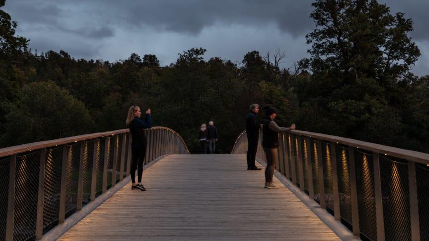 Folke Bernadottes bro över Djurgårdsbrunnsviken