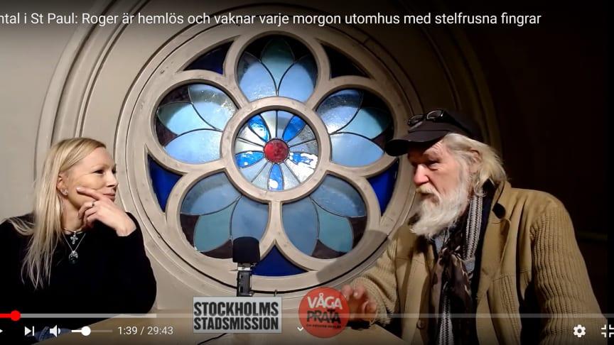 Roger i samtal med Hjärnkoll Stockholms Lou.