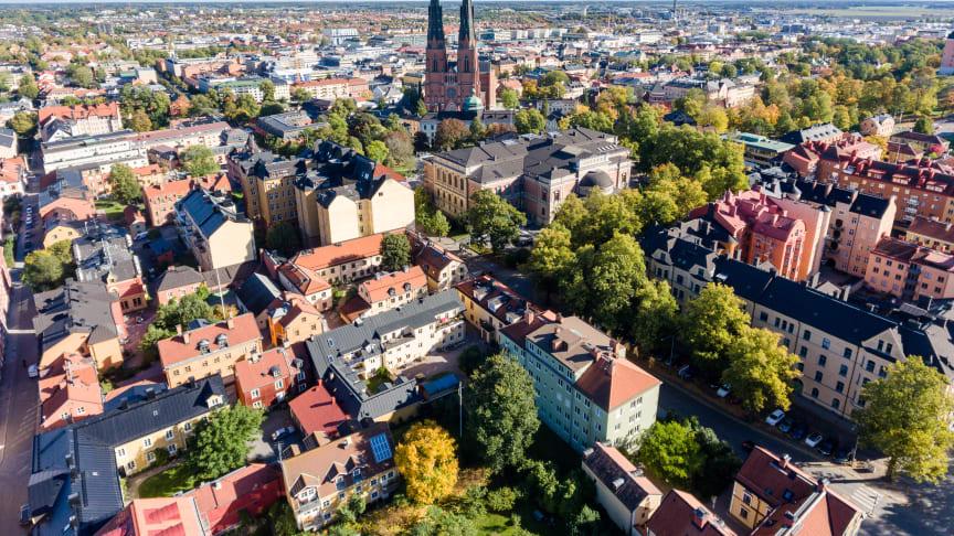 Bostadspriserna fortsätter uppåt i Uppsala