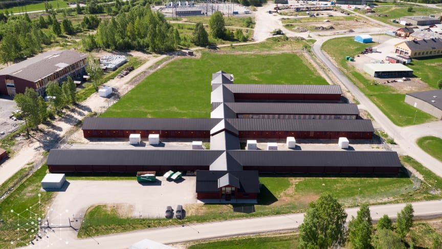Hydro66 19 MW colocation datacenter located in Boden, Sweden on a 42 MW site.