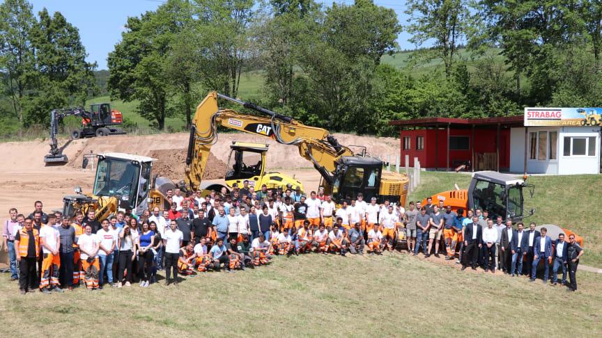 In Bebra werden zurzeit 257 Nachwuchskräfte  in gewerblichen Bauberufen ausgebildet (Copyright: STRABAG)