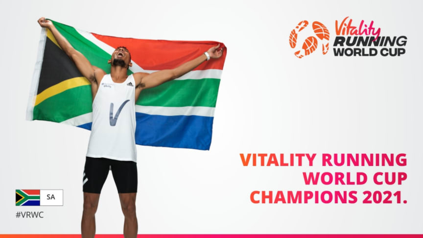 The 2021 Vitality Running World Cup Champion Announced