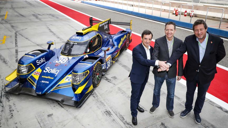 FIA World Endurance Championship on nimittänyt Goodyearin LMP2-luokan viralliseksi rengastoimittajaksi