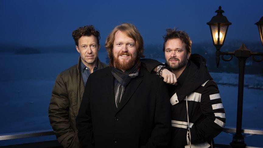 Martin Almgren, Axel Schylström och  Joakim Nätterqvist medverkar i  Robin Hood The Musical.
