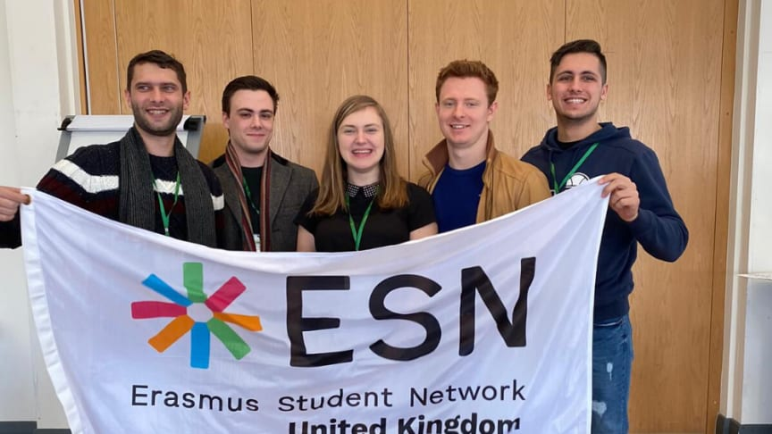 Natalia Flis centre with colleagues and partners from the ESN Network