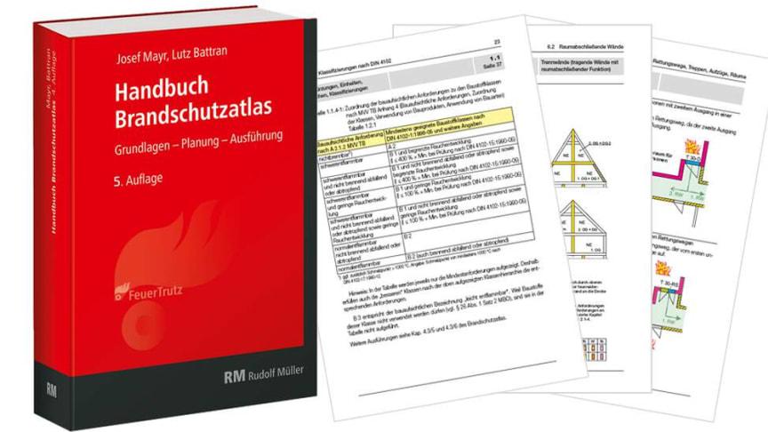 """Mit dem """"Handbuch Brandschutzatlas"""" gelingt der Einstieg in den vorbeugenden Brandschutz. Quelle: FeuerTrutz Network"""