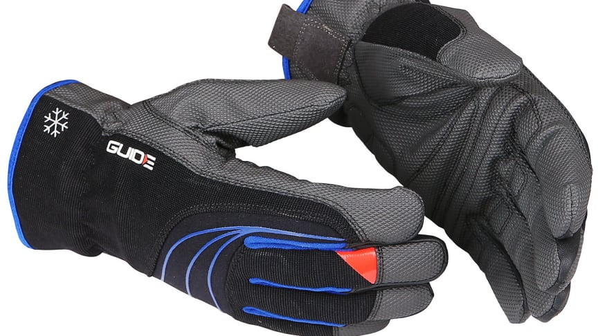 Nya handskar från Guide utvecklade för att ge bra grepp i regn och kyla